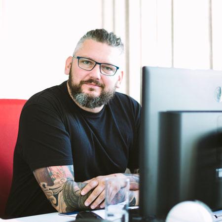 Geschäftsführer Sven Oczko